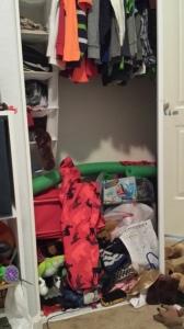 Closet Nightmare!